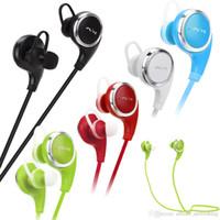 Stocks américains! QY8 sans fil Bluetooth4.1 casque Mini Sport stéréo écouteur 10m Handfree casque pour téléphone iPhone Samsung