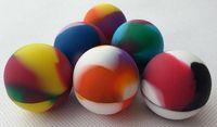 2015 silicone ball container Non- stick Silicone Ball For Wax...