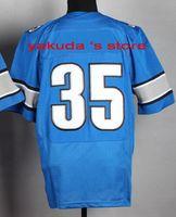 2015 New Playe Blue Cheap Elite Jersey, Discount Cheap Custom...