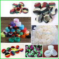 Wax Containers Silicone Jars Dab Wax Container 5mL 32 * 18mm Dab Oil Silicone Containers Pour Wax Livraison Gratuite ePacket (120pcs + by DHL Fedex)