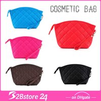TOP A Quality Cosmetic Bag with 7 Candy Colors Diamond Makeu...
