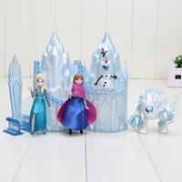 Princess Castle Ice Palace Throne Play Set Elsa Anna PVC Mod...