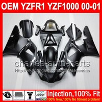 7gift Injection Body For YAMAHA YZFR1 YZF R1 00- 01 Flat blac...