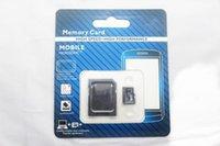 30pcs / lot DHL Clase 10 de 64GB Micro tarjeta de memoria SD TF Clase 10 Clase Con adaptador 10 TF tarjetas de memoria SD con adaptador libre Paquete al por menor