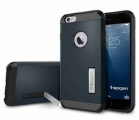 SLIM ARMOR SGP Case For Apple iPhone 6 Plus With Stand Hard ...