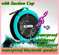 Bluetooth Speaker Wireless C6 IPX7 Outdoor Sports Shower Por...