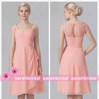 2015 Knee Length Bridesmaid Dresses Cheap Under 100 Free Shi...