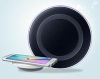 Pour Samsung Galaxy Note S6 Chargers Universal Qi chargeur sans fil de recharge rapide et Edge pad mobile avec forfait de détail