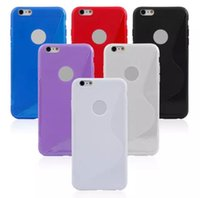 6 COLORS S Line Soft TPU Jelly Case for iPhone 6 Plus 5. 5&qu...