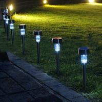 Светодиодные Солнечный свет Солнечный свет лужайки сада Пластиковые Открытый Sun Light Коридор Лампа Открытый Garden Party лампы Солнечные Цветные лампы Солнечные
