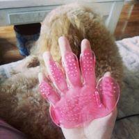 Free shipping Dog a bath brush, pet a bath brush \ cats show...