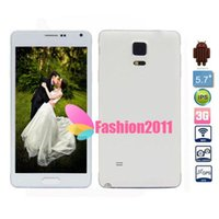 5. 7inch HD Note 4 1: 1 MTK6582 Quad Core Cell Phone 1280*720 ...