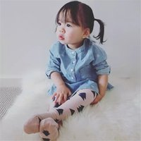 ins Hot Baby Girls Cotton Socks Knee High Stocking Warmers L...