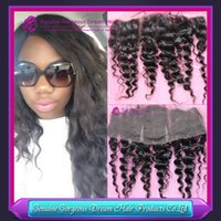 13x4 Mongolian Deep Wave Lace Frontal Full Lace Deep Wave La...