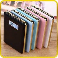батареи зарядное устройство Power Pack Polymer портативный резервный Ultra Thin Power Bank 12000mAh Полимер Мобильный USB Внешние для Samsung S6 iPhone