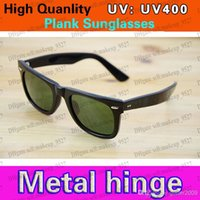 High Quality UV400 protection Sunglasses Plank black Sun gla...