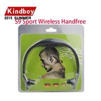 Chrismas casque stéréo sans fil S9 Sports Headset Bluetooth Speaker Neckband écouteurs Bluetooth 4.0 Avec Retail Package 20 pièces jusqu'à DHL