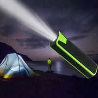 J7 Flashlight Portable Bluetooth Speaker With 2000mah Power ...