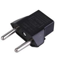 Brand New Black US Standard Convert to EU plug Adapter EU Tr...