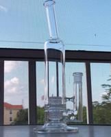 Mobius Stereo Matrix ---- 2016 nouveau bong de verre Stemless Tube avec stéréo Matrix Perc joint de taille 18.8mm tuyau d'eau