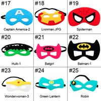 super hero mask kids eyemask cosplay superman mask batman co...