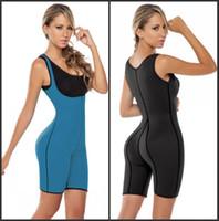 Hot Women Ultra Sweat Neoprene Compression Sportswear Bodywe...
