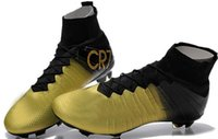Mercurial superfly cr7 FG soccer cleats 2015 Men' s Firm...
