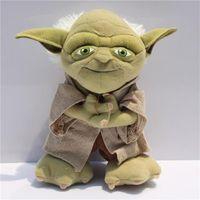 Star Wars Yoda Plush Toy Cosplay Costume Soft Stuffed Doll 8...