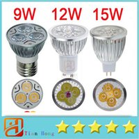 Led Lamp Spotlight Bulb Light DHL High Power CREE 9W 12W 15W...