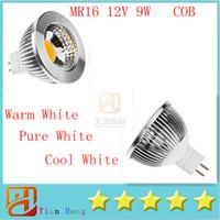 Dimmable MR16 9W COB 12V Led Spotlight Energy Saving Led Bul...