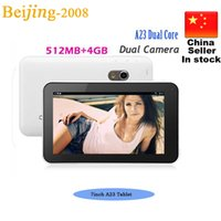 7inch A23 dual core dual camera tablet pc android 4. 2 512RAM...