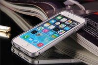 iPhone 6 6+ Case Colorful Aluminum Metal Bumper Frame PC Bac...
