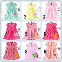 38 Mulit- styles Baby Girls Cute Cotton Tank Dresses Children...
