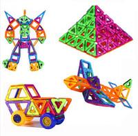 72pcs Set Wheels Set Similar Mag formers Toy Bricks 3D MAGNE...