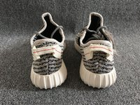 Hot!!! Kanye West 350 Moonrock Running Shoes Free Shipping K...