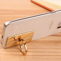 Luxury Bling mobile phone ring stent Against lost general ri...