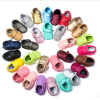 Hot Selling Baby Kids Good Quality PU Leather Soft Shoes Boy...