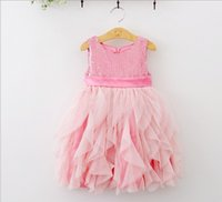 2015 NEW ARRIVAL baby girl kids Sequin Sparkling stitching t...
