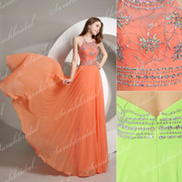 Coral Pink Chiffon Bridesmaid Dresses Cheap Under 150$ 2015 ...