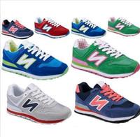Good quality women sport shoes men' s South Korea Joker ...