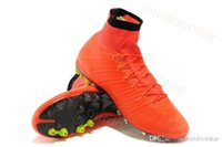 2015 High Ankle Football Shoes Top Quality Mercurial Superfl...