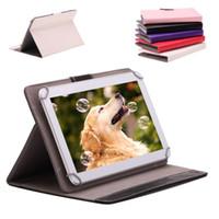 10 pouces Tablet Cover Case en cuir PU pliable pliant Folio Wallet stand Cas Smart Cover pour 10 pouces Tablet PC