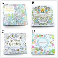 4 Design Secret Garden An Inky Treasure Hunt and Coloring Bo...