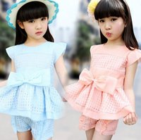 For Big Girls Clothes 2015 Summer Korean Kids Clothing Sets ...