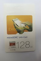 El precio más bajo corte Clase 10 EVO 128 GB 64 GB adaptador de memoria de la tarjeta de 32GB SD MicroSD TF Micr C10 flash SDHC SDXC SD Blanco Naranja al por menor Pa