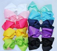 "Hair accessories 8"" INCH big bows large girls boutique ..."