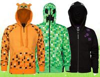 New coats minecraft Enderman creeper Ocelot minecraft hoodie...