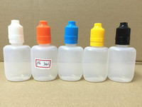 Newest 30ml Oblate E Liquid Bottle E Juice Bottle With Tampe...