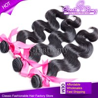 Grade 7A Cheap Peruvian Body Wave Hair Extensions Natural Co...