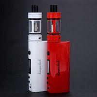 1: 1 Topbox Mini Starter Kit 4ml Haut Recharge Vaporisateur Top box Mini 75W Kits Airflow Control gratuitement DHL
